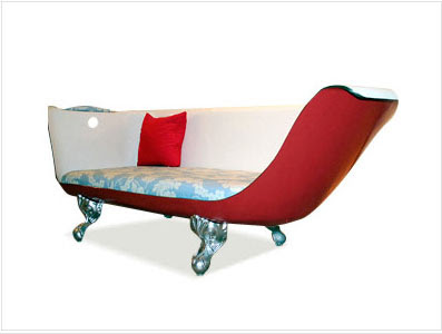 Holly Golightly Bathtub Couch