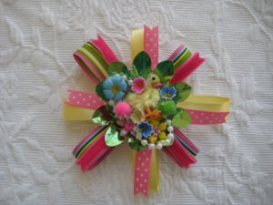 Easter corsage