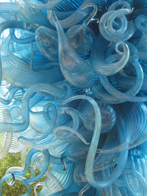 Dale Chihuly hand-blown glass sculptures