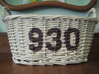 Make your own typography basket