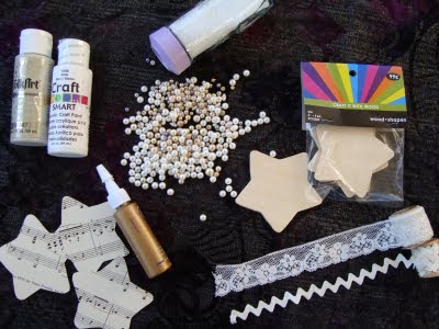 Here are the supplies that I used:
