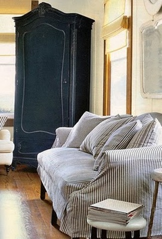 French ticking country living