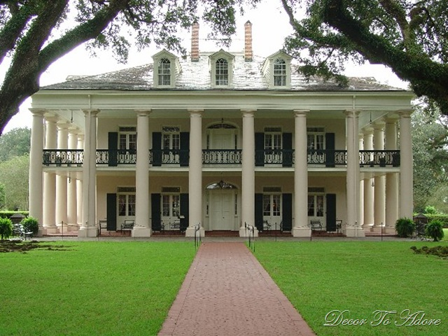 Plantation house decor