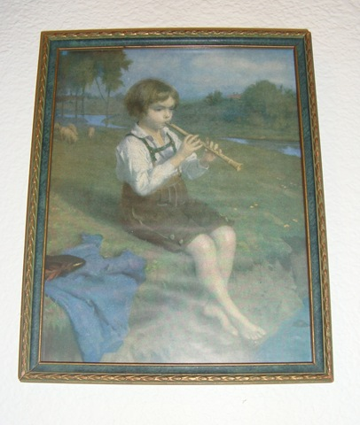 German print of boy