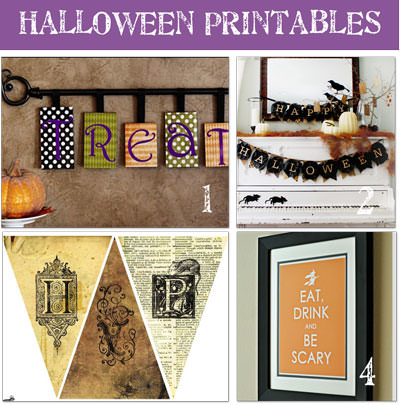 all crafts 20 Free Halloween Printables