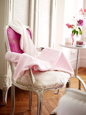 Pink French Chair