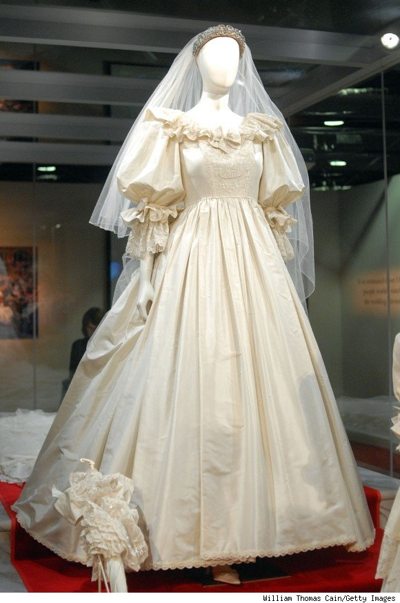 Lady Dianas Wedding Gown