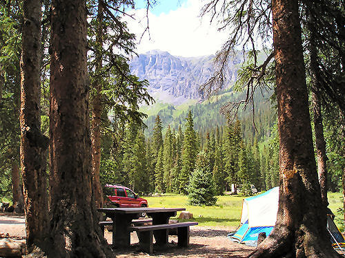 South Mineral Campground, San Juan National Forest, Silverton, Colorado (photo © Steve Hicks)
