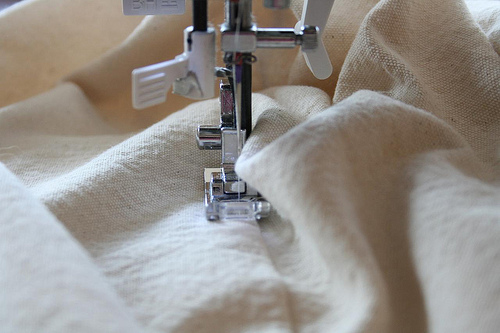 machine topstitch