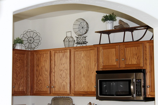 Decorating Above The Kitchen Cabinets Decor To Adore