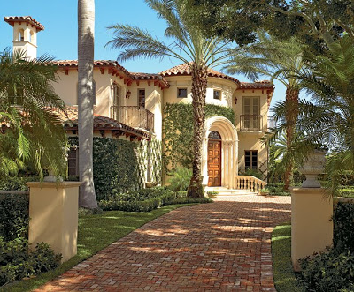 Exceptional ... Has White Stucco Walls, Horseshoe Arches, Decorative Ironwork And Low  Pitched Roofs Covered In Red Tiles Instantly Associate It With Spanish  Colonial, ... Great Ideas