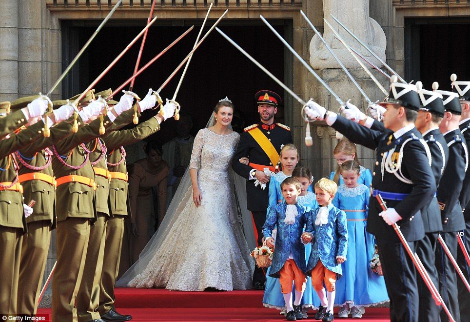 Prince Guillaume of Luxembourg is the last hereditary Prince in Europe to get married