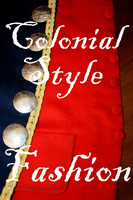 Colonial Style Fashions