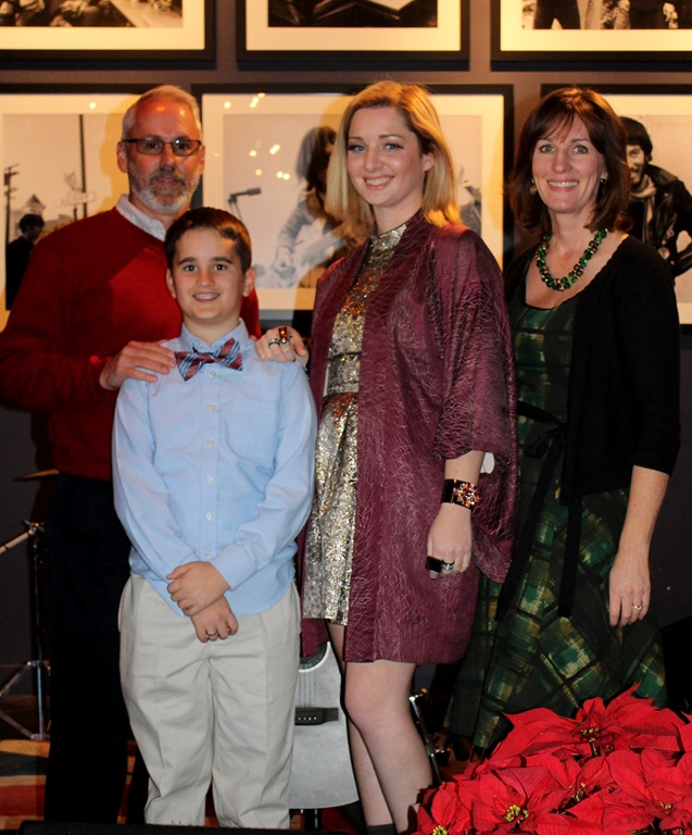 The Fashionista and family