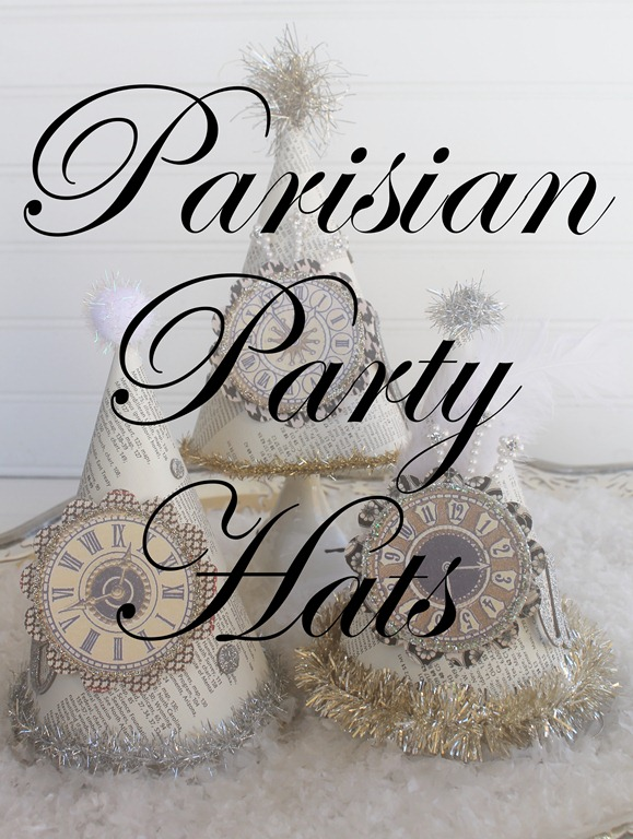 parisian party hats