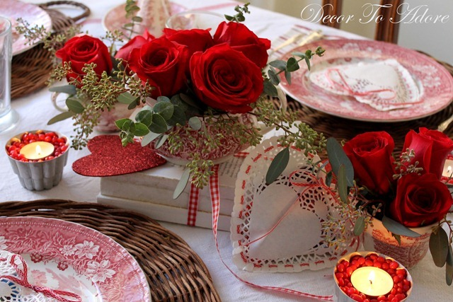 A French Country Inspired Valentine Tablescape