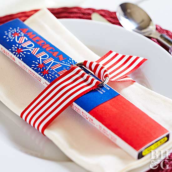4th of July Napkin Ring
