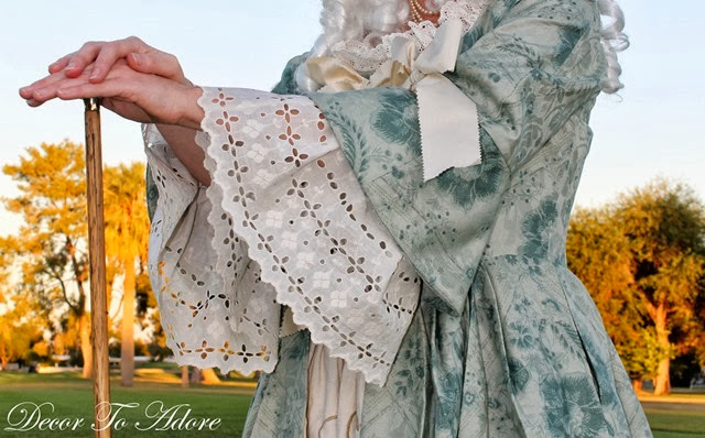 18th Century Ensemble Decor To Adore finished sleeves