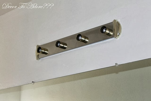 Ugly Bathroom Light Fixtures how to remove ugly bathroom lighting and live to tell about it