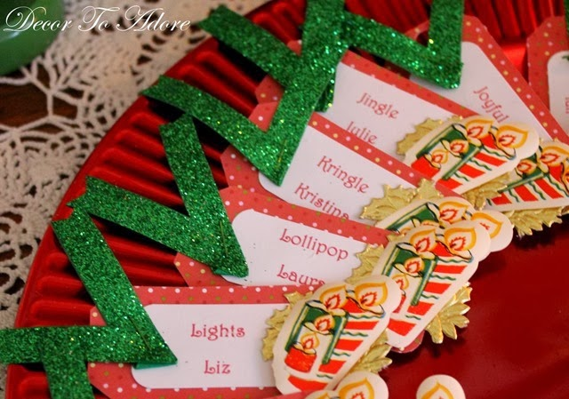 Perfect Cookie Exchange nametags