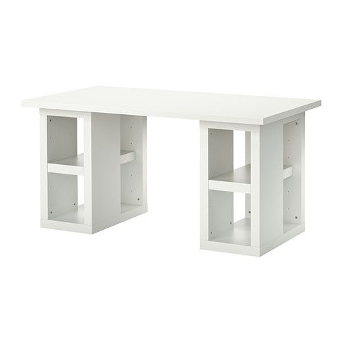 LINNMON/ULLRIK Table IKEA The shelf inside can be adjusted or removed so you can store things of different sizes, from papers to your comput...