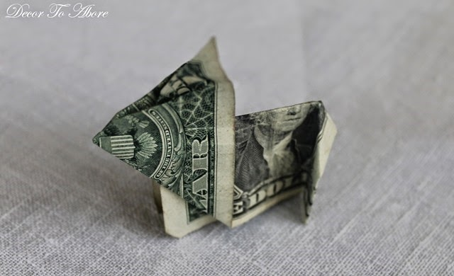 dollar bill rabbit