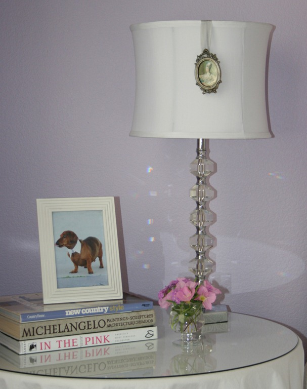 DIY A Little Lampshade Bling