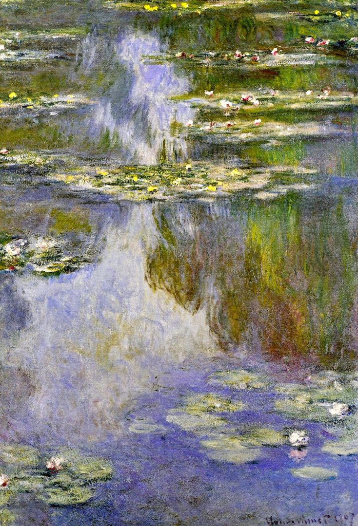 Monet s water lily pond decor to adore for Decor to adore