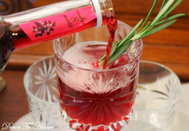 Cranberry cordial