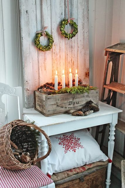Advent and Christmas Scandinavian style , Per Natale http://www.pinterest.com/pernatale/
