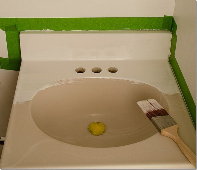 Epoxy Spray Paint Kitchen Sink Image Sink And Toaster - Epoxy paint for sinks and tubs