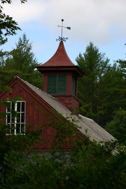 Old Red Barn & Cupola