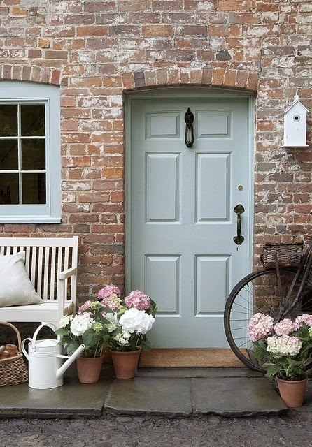 Whipped Mint(MQ3-20) by Behr & What Color Should I Paint Our Front Door? Your Vote is Needed ...