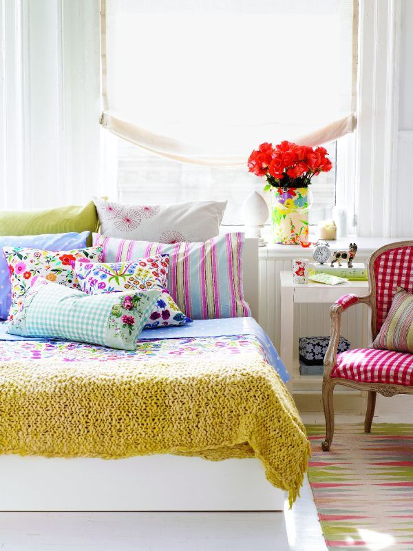 Colorful Summer Bedroom Ideas To Steal