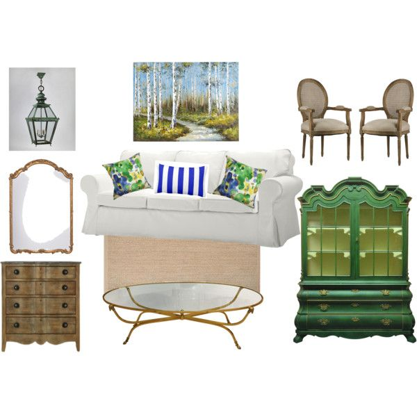 Storybook Cottage Living Room by decortoadore on Polyvore featuring interior, interiors, interior design, home, home decor, interior decorating, Pier 1 Imports and living room