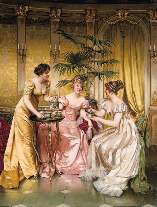 regency tea party