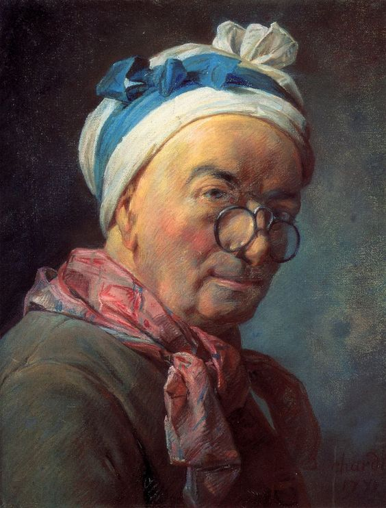 Chardin pastel selfportrait - Self-portrait - Wikipedia, the free encyclopedia:
