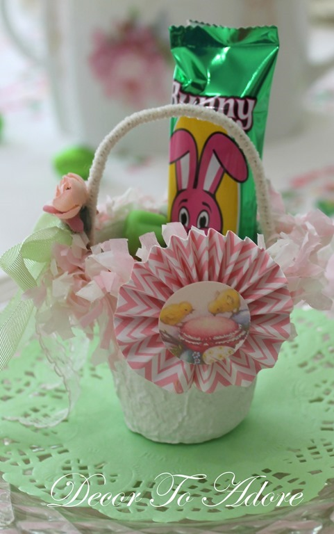 Peat Pot Easter Baskets