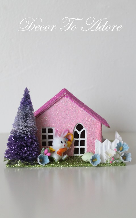 Putz Easter House