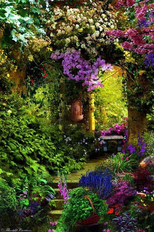 30 Real Life Gardens That Could Be Straight from a Fairytale...:
