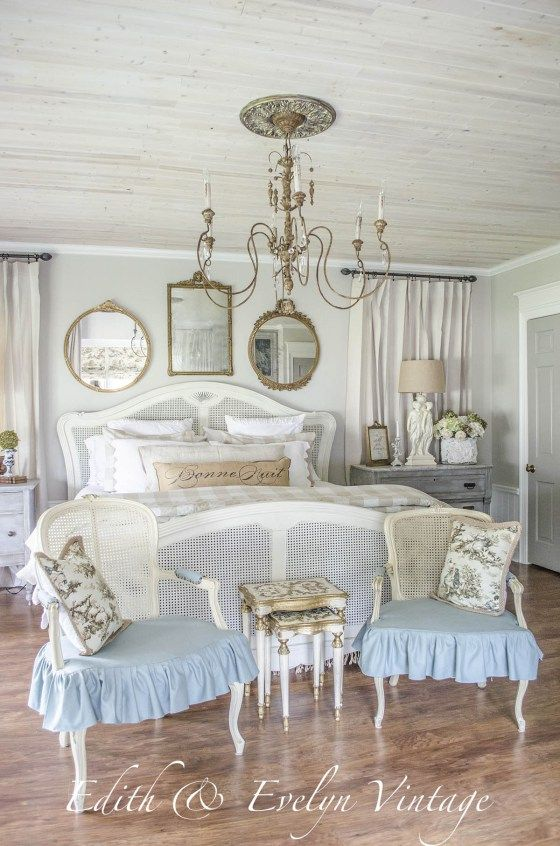 Transformation | Master Bedroom | Edith & Evelyn Vintage | www.edithandevelynvintage.com: