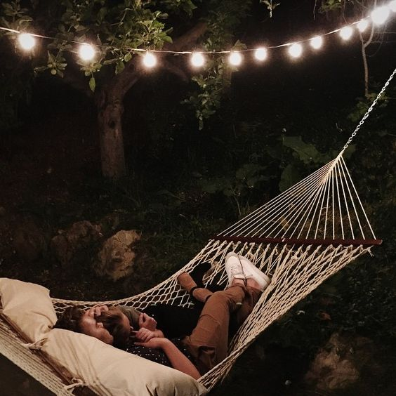 Not much thats better than summer nights spent in the hammock.: