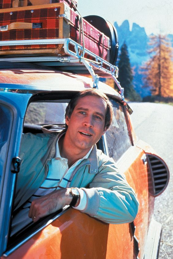 NATIONAL LAMPOON'S VACATION... LOVE all of them but Christmas Vacation is my family's fave :):