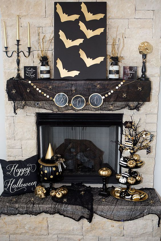 30 Absolutely Stunning Ways to Decorate Your Mantel This Fall: