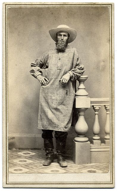 A New England Man Wearing a Smock | Flickr - Photo Sharing!: