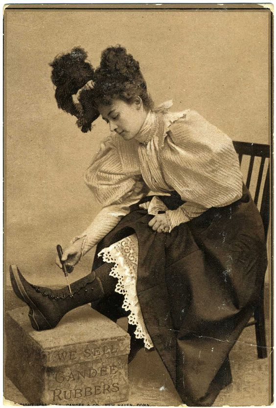 Becoming Laura 1860's/70's Shoes, Stockings and Gloves
