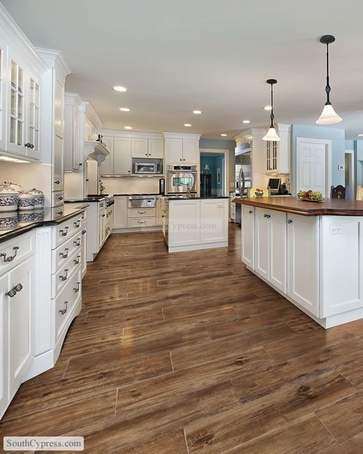This is porcelain tile made to look like wood flooring. South Cypress  - American Heritage 9