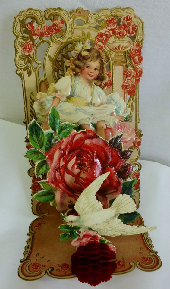 A Modern Take on a Victorian Valentine Decor to Adore – Vintage Victorian Valentine Cards