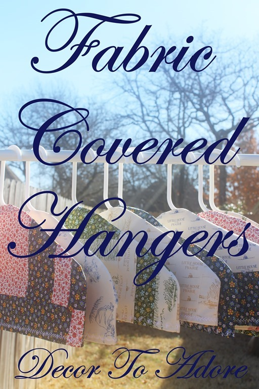 Fabric Covered Hangers 035