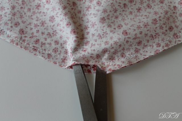 Fabric Covered Hangers top gap